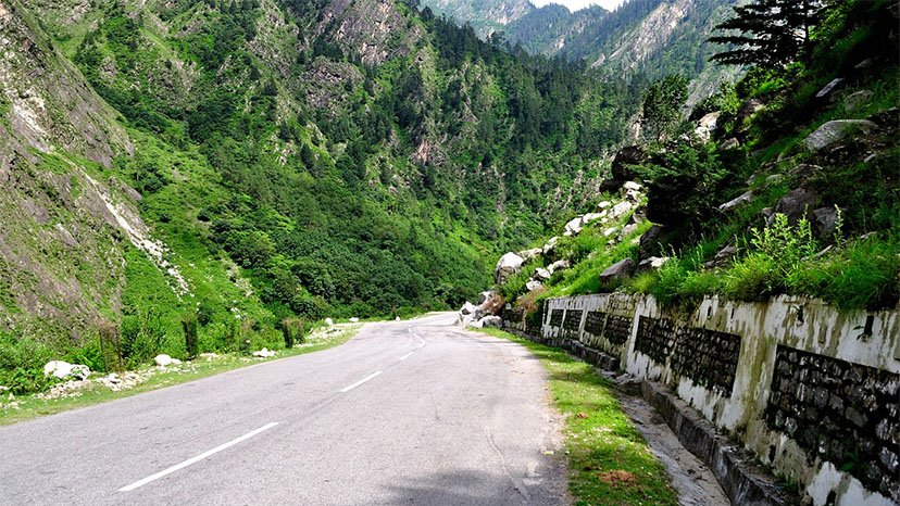 road condition to the valley of flowers