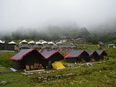 Himalayan Eco Camp Outside