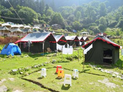 Himalayan Eco Camp Outside1