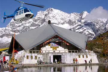 Valley of Flowers with Hemkund Sahib by Helicopter